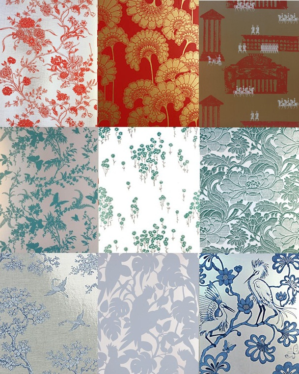 florence broadhurst wallpapers. Florence Broadhurst Wallpaper by Signature Prints
