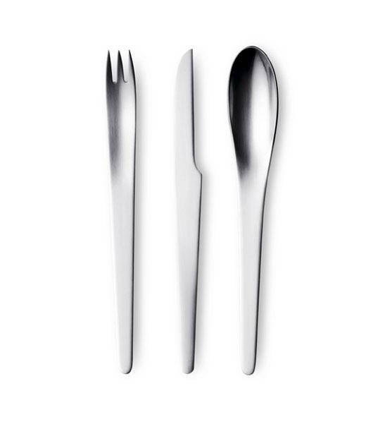 Arne jacobsen legendary danish designer architect sabi style blog - Arne jacobsen flatware ...