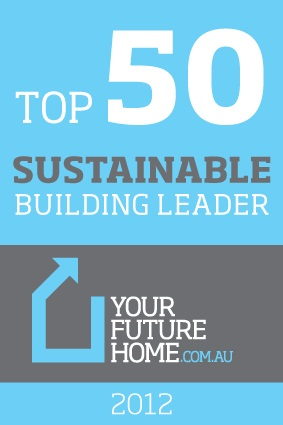 Top 50 Sustainable Building Leader 2012