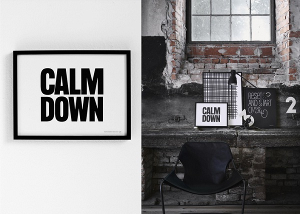 """Calm Down"" by Therese Sennerholt"