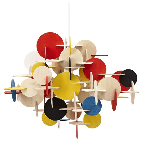 BAU pendant light (coloured finish) by Normann Copenhagen (image by Normann Copenhagen)