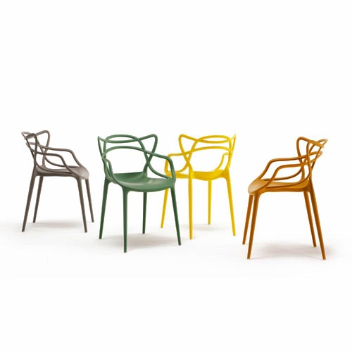 Masters Chairs by Philippe Starck for Kartell (image by Kartell)