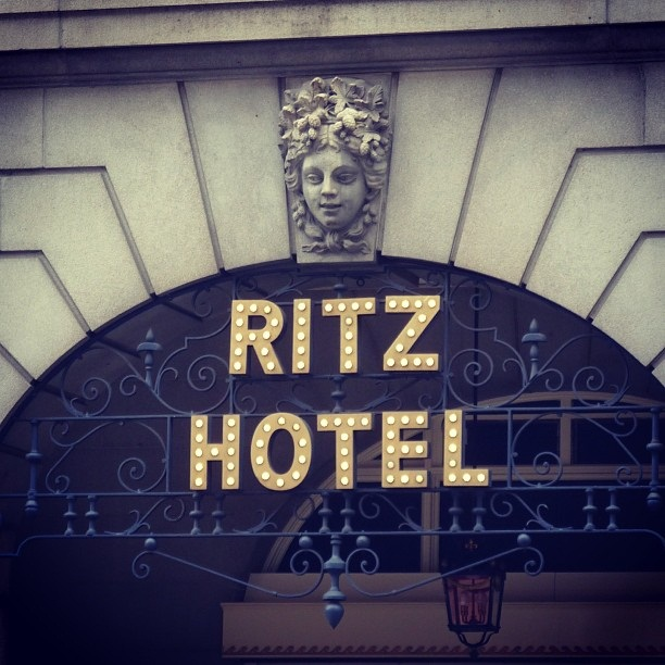 Ritz Hotel (image by Sabi Style)