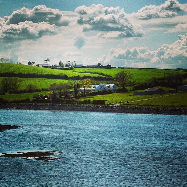 Strangford Lough - view from Sketrick Island  (image by Sabi Style)
