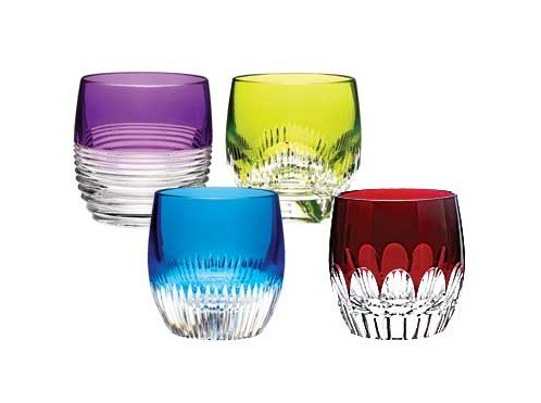 Tumblers in the full range of colours from the Mixology Collection (image by Waterford)