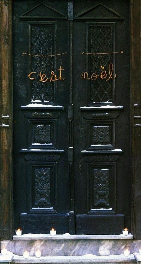 C'est Noel (image by Marie Claire Maison)
