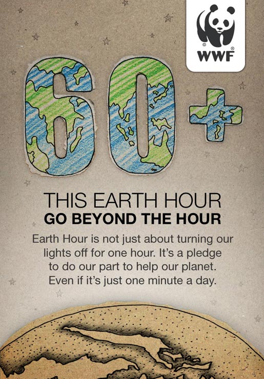 Earth Hour 2014 launches their iPhone app to encourage people to go beyound the hour