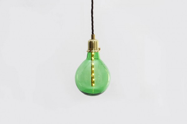 The Bottle Bulb created by Studio Swine for their Sao Paulo Collection (image by Studio Swine)