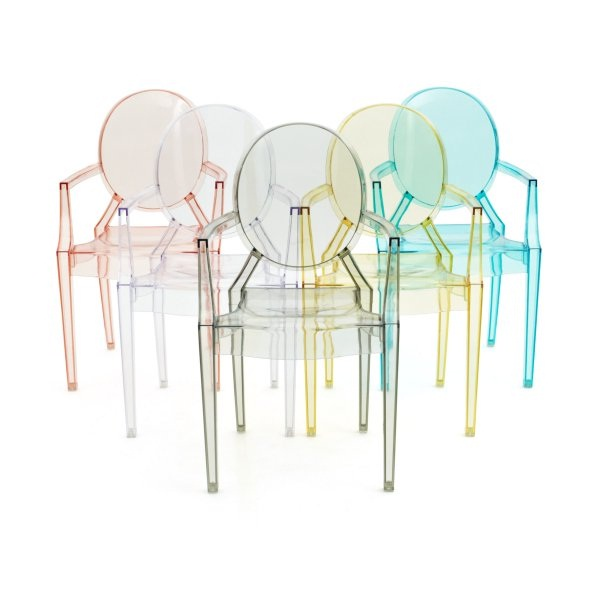 Louis Ghost chair by Philippe Starck (image by Kartell)