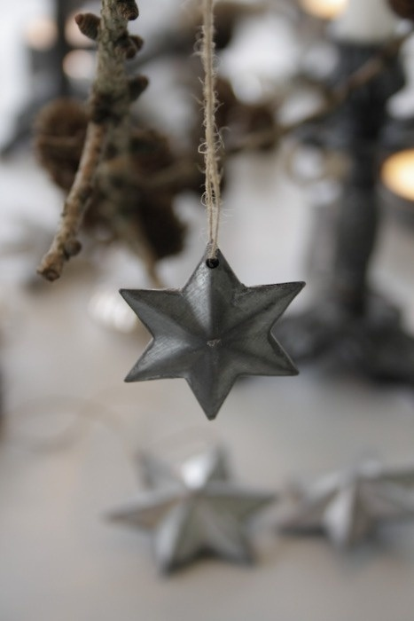 Zinc Star christmas ornament (image from indulgy.com)