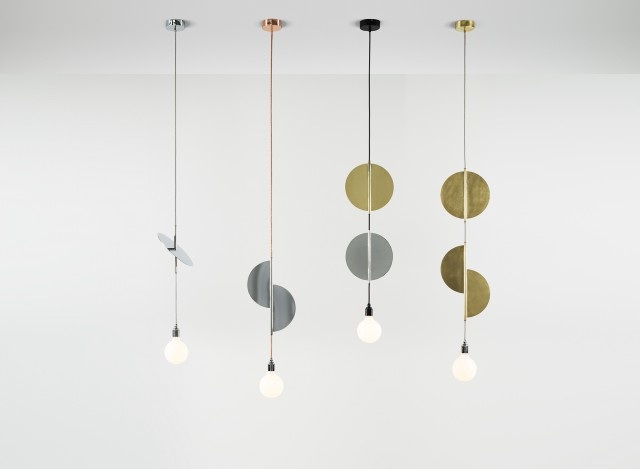 Flipside pendant lights by Volker Haug